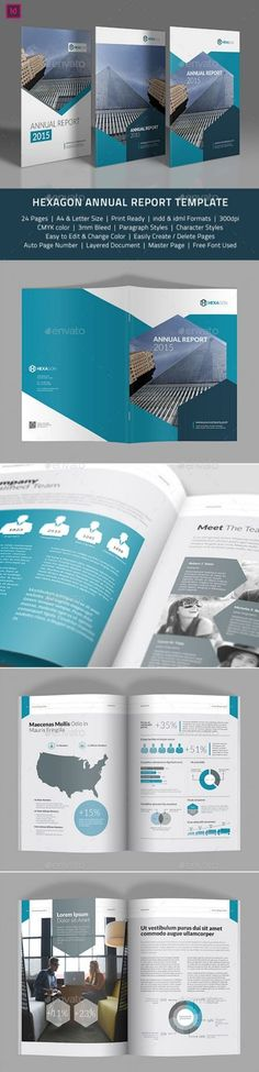 Free Annual report brochure flyer cover for marketing advertising - free annual report templates