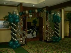 Music themed decor