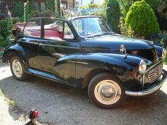 Morris Minor convertible, 1963, black, MOT July 2014, lots of history | eBay