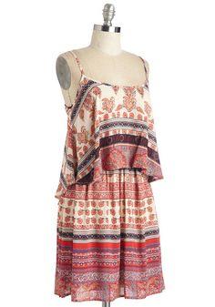Flutter You Up To? Dress | Mod Retro Vintage Dresses | ModCloth.com