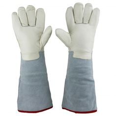 """29.99$  Buy here - http://aliw98.shopchina.info/go.php?t=32641347294 - """"U.S. Solid 45 cm (17.7"""""""")  Protective Gloves for Cryogenic Dewar Liquid Nitrogen Container""""  #magazineonlinewebsite"""