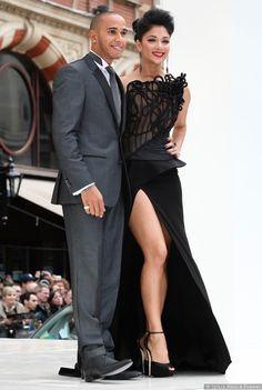 Nicole Scherzinger & Lewis Hamilton