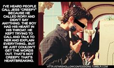 A blog dedicated to the anonymous fan confessions of the popular TV series, GILMORE GIRLS. All...