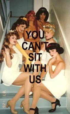 Mean Girls disney princesses! hahaha