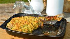 Pierna de cordero lechal con costra - Receta - Canal Cocina