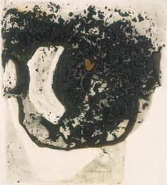 Alberto Burri (1915-1995, Italy) | Combustione 5, 1965 (Città di Castello, ex Essiccatoio) Abstract Paintings, Abstract Art, Gino Severini, Umberto Boccioni, History Of Modern Art, Giacomo Balla, Alberto Burri, Neo Dada, Italian Painters