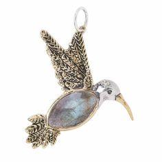 Love this....Fly Lightly Hummingbird Pendant