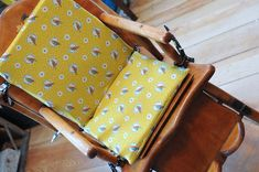 Going to find a lovely wooden high chair while thrift shopping. Then make a cute cushion for it. Diy Arts And Crafts, Crafts For Kids, Big Comfy Chair, Wooden High Chairs, Cute Cushions, Dining Room Chair Cushions, Highchair Cover, Wrought Iron Patio Chairs, Homemade Crafts