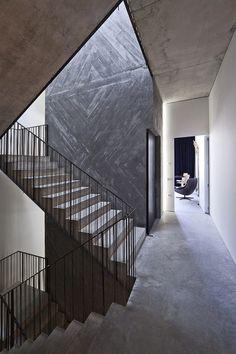 Casa do Conto modern concrete hotel interiors