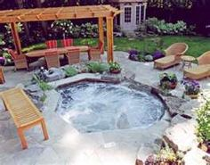 small in groud hot tub