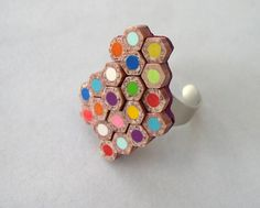 .colored pencil ring