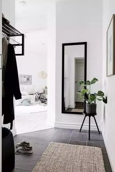 Decoración de pasillos - espejos