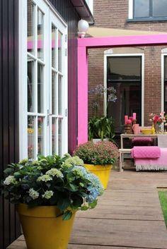 Felle kleuren in de tuin | Interieur inrichting