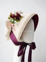 Image result for victorian bonnets 11th Century, Tower Of London, Victorian Hats, British Isles, Bonn, Custom Embroidery, Cotton Linen, Dress Hats, Bristol