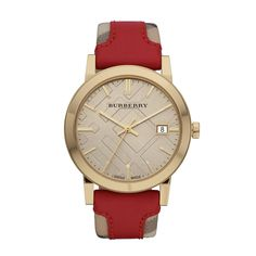 7ff2eca6d3b0 Burberry Heritage Watch-BU9017 Leather Watch Bands