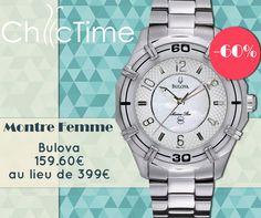 Laissez-vous tentées par le raffinement des montres Bulova avec cette montre à seulement 159.60€ au lieu de 399€ !  Voir la montre sur Chic Time: https://www.chic-time.fr/montre-femme/11114-montre-bulova-96l145-0042429487376.html
