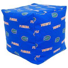 Florida Gators Cushion Cube Pouf, Multicolor