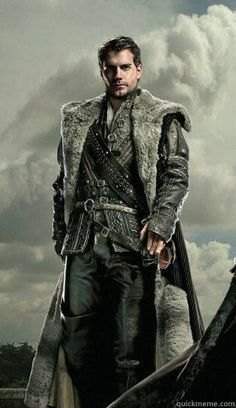 Henry Cavill as Charles Brandon, Courtesy of the Henry Cavill Fanpage and Showtime Network