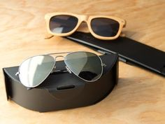 Flip Case - Collapsable Sun Glasses Case