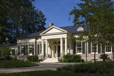 Historical Concepts Architecture & Planning \ residences & retreats \ Georgia Revival