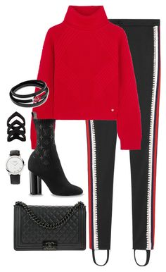 """""""Untitled #4501"""" by magsmccray on Polyvore featuring Gucci, Versace, Chanel and Links of London"""