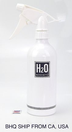 Hair Salon Aluminum Spray Water Bottle (White) ** This is an Amazon Affiliate link. Be sure to check out this awesome product.