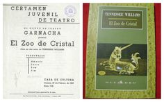 """""""El Zoo de Cristal"""" de Tenessee Williams por el grupo Garnacha en la Casa de Cultura Cuenca Febrero 1969 #Cuenca #Teatro #CasaCulturaCuenca"""