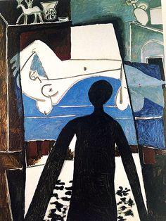 """PICASSO/""""L'Ombre"""" (1953)"""