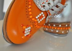 Why did I never think of bedazzling my tap shoes? :(