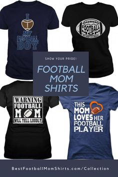 Need one of these football mom shirts! Football Shirt Designs, Football Mom Shirts, Football Tops, Team Shirts, Football Stuff, Vikings Football, Football Gear, Fall Football, Football Season