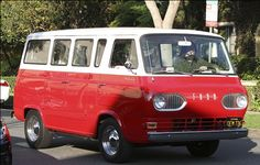 Vintage Ford Falcon Kombi Van - Dave Grohl, front-man for the rock band The Foo Fighters, was spotted recently in this vintage Ford Falcon Kombi van.