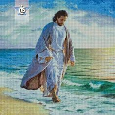 christian: free cross stitch pattern on International Cross Stitch