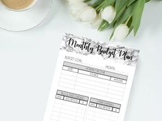 Hey, I found this really awesome Etsy listing at https://www.etsy.com/ca/listing/496314930/printable-marble-planner-pages-monthly