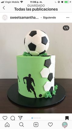 Chimmy's birthday – Backen – - Birthday Cake Football Birthday Cake, 12th Birthday Cake, Soccer Birthday Parties, Birthday Pins, Gateau Iga, Cakes For Teenagers, Sport Cakes, Soccer Cakes, Teen Cakes