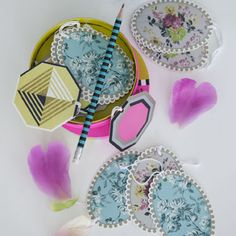 gift tags by Designers Guild