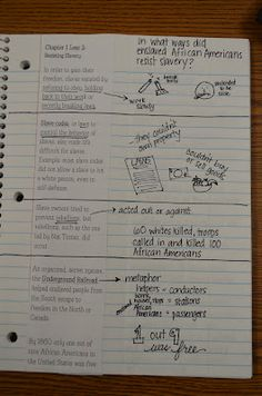 This will be the first page in our interactive notebook.. love it ...