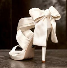 What girl wouldn't love a pair of Vera Wangs on her big day? #wedding #shoes #VeraWang