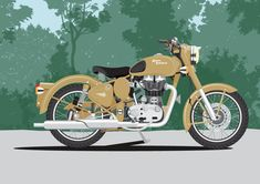 Graham Bliss is a Graphic Designer and Illustrator offering Adobe Photoshop, Adobe Illustrator and Adobe InDesign training in Brisbane. Royal Enfield Logo, Royal Enfield Classic 350cc, Motorcycle Art, Bike Art, Motorcycle Posters, Motorcycle Quotes, Moto Bike, Royal Enfield Wallpapers, Bike Humor