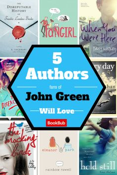Here are some other authors you'll adore just as much as John Green!