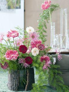 Confectionnez vous-même ce luxuriant bouquet de gerberas