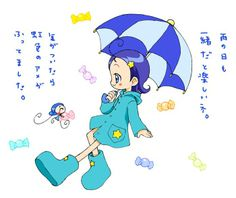Tags: Anime, Fairy, Ojamajo DoReMi, Senoo Aiko, Rain Coat, MiMi (Ojamajo DoReMi)