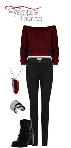 The Vampire Diaries Elena Gilbert inspired outfit