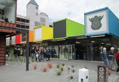 stores made from shipping containers
