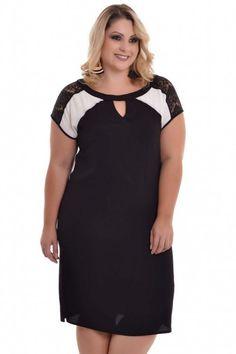 Vestido Plus Size Social Chic