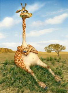 If your mom was a Giraffe...