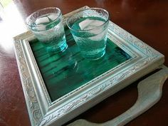 This is so cool! Mod Podge + Food Coloring + Water = DIY Stained Glass ~ Got to try it!