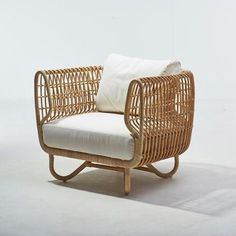 The Cane Line Nest Club Chair Is Made Of Sustainable Natural Rattan And Is  Part Of