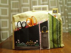 sewing machine cover packed by Everyday Crafty Goodness, via Flickr