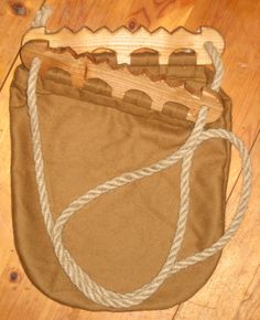 Haithabu handbag    My next purse! (SCA Viking woman...)  see the post of the  wool woven one too. I'm thinking soft leather & leather strap(s) for this one....