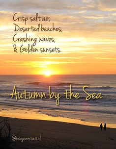 Autumn by the Sea.  mrp